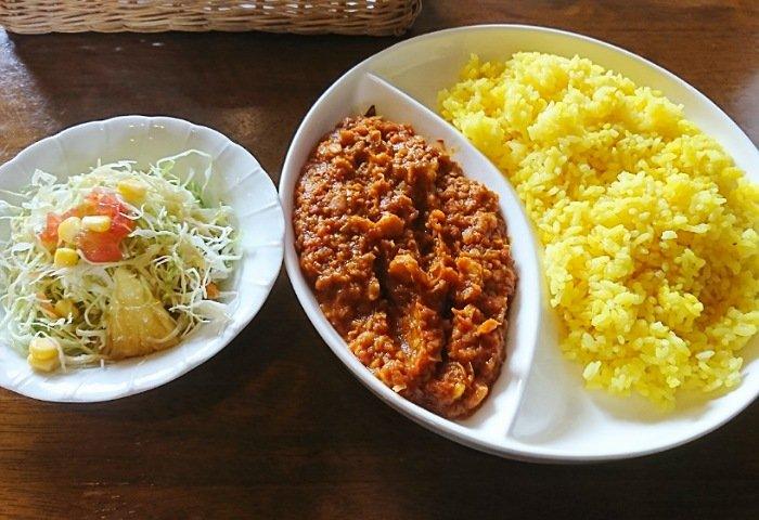 ターメリック高知のお豆カレー