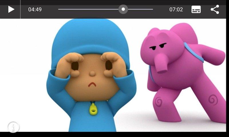 ジェリージャムアプリ:動画再生画面