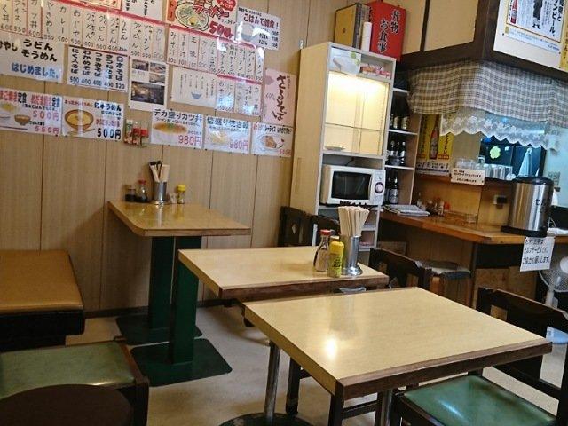 くろちゃん食堂:店内