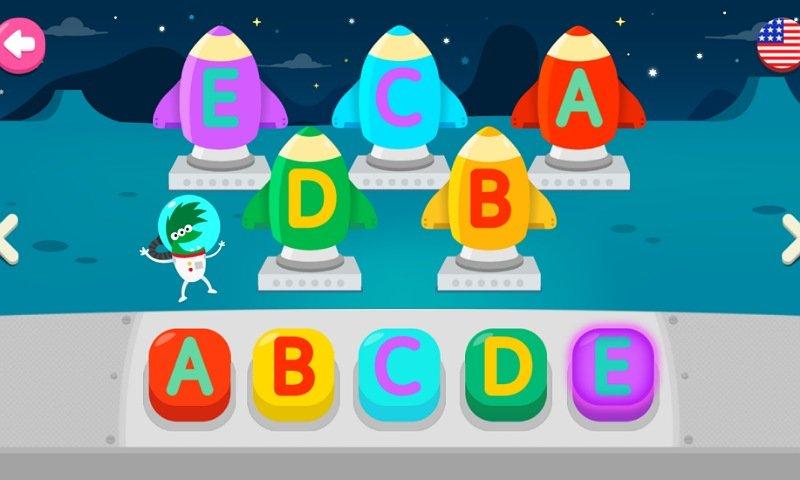 PINKFONGはじめてのなぞり書きアプリ:ミニゲームで学習