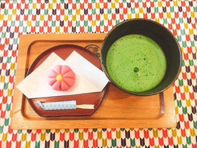 中納言本店:抹茶セット