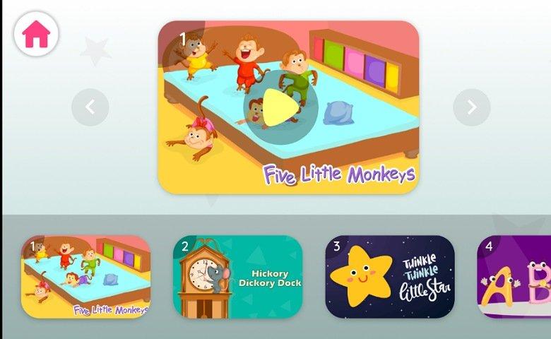 英語教育アプリHello English Kids:リズムで学習2