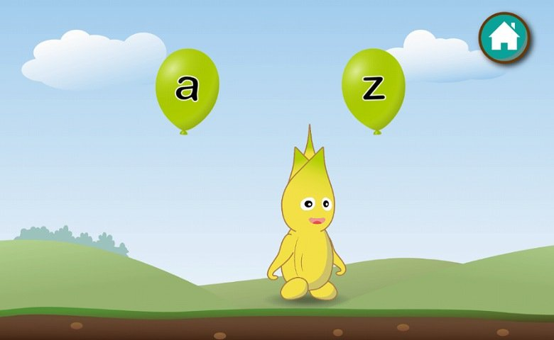 英語教育アプリABC Goo Bee:アルファベットを選ぶゲーム