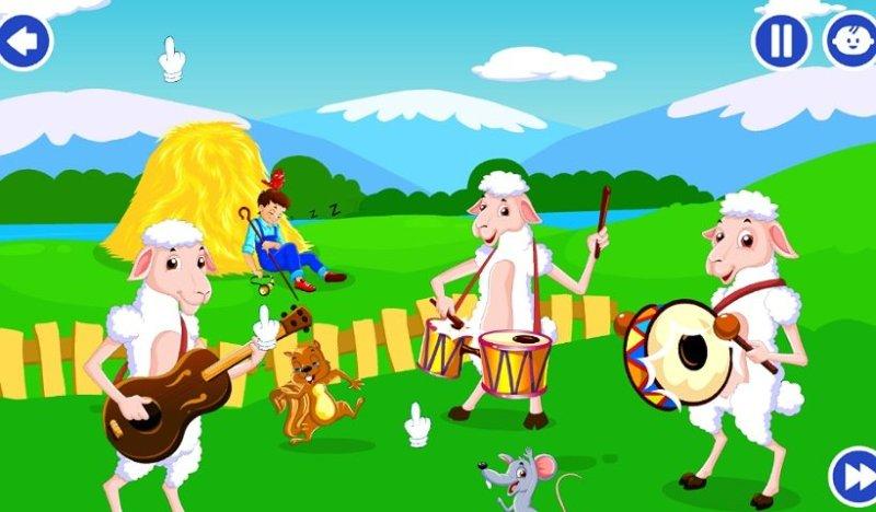 子ども向け英語教育アプリKidloLand:アニメーションが反応する