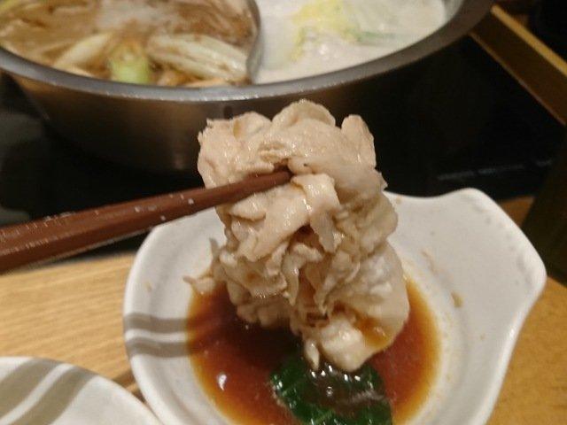しゃぶ菜:お肉を食べる