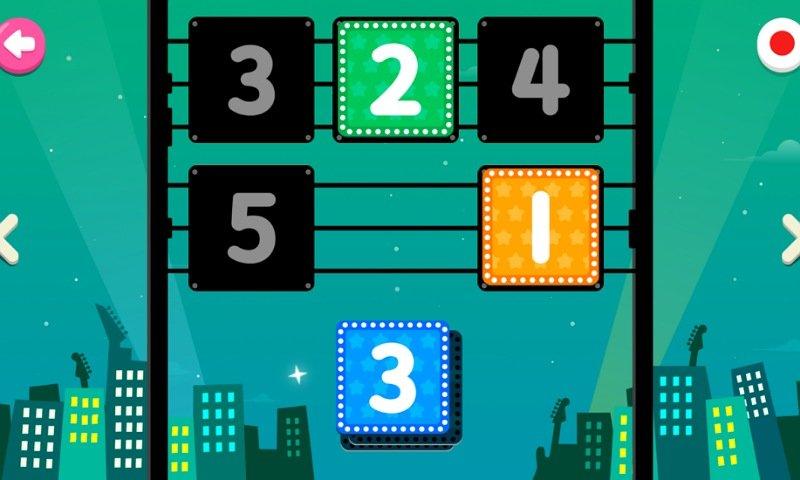 PINKFONGはじめてのなぞり書きアプリ:ミニゲーム3