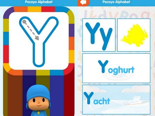 アルファベット学習アプリPocoyo Alphabet