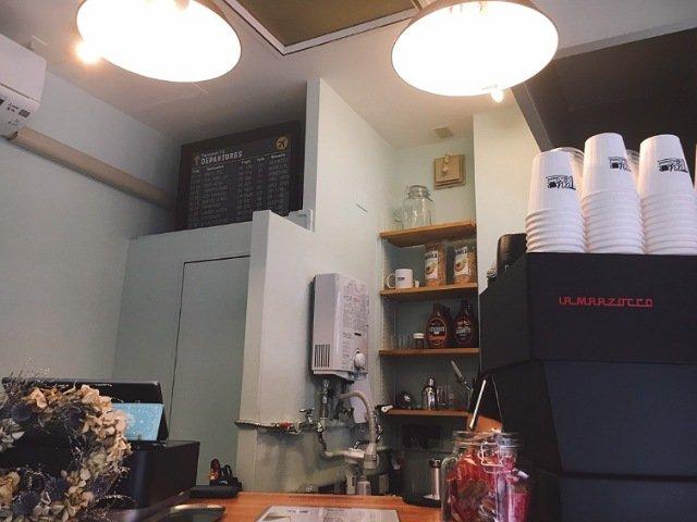 TAY COFFEE STAND(タイコーヒースタンド)の店内