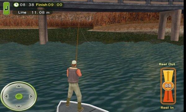Fly Fishingのゲーム画面