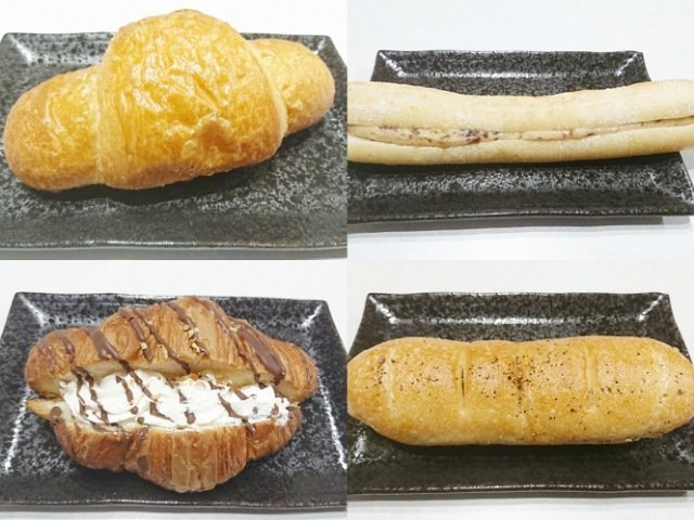サンシャインのパン香房ファリーナ:4つのパン