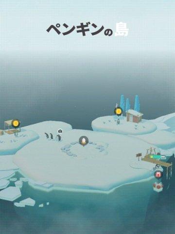 ゲームアプリ「ペンギンの島」