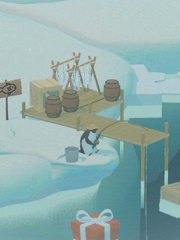 ペンギンの島:釣り場