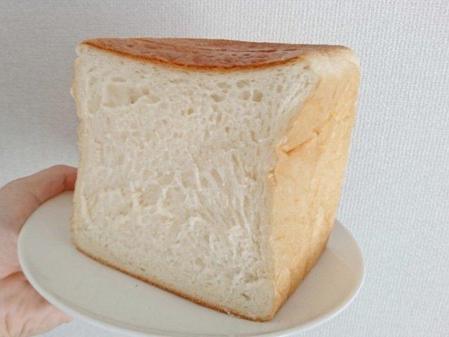 ル・ミトロン高知高須店:食パンの断面