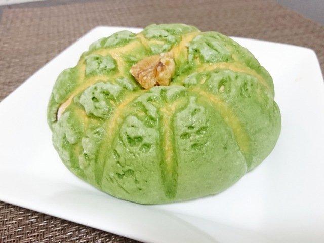 パン工房ランベリー:かぼちゃメロンパン