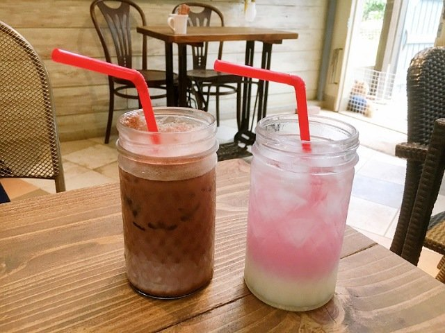 豆柴ドッグカフェmomoca:ドリンク