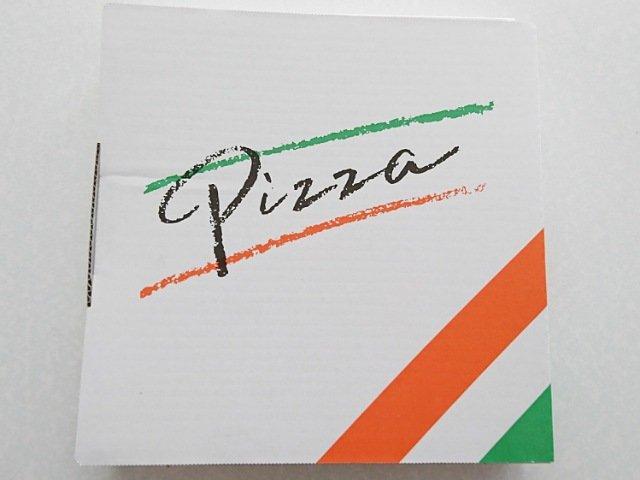 ピッツェリア ブル エ アルベロ:ピザの箱