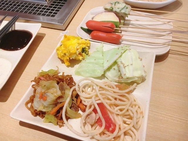 串家物語イオン高知店:サラダやパスタ