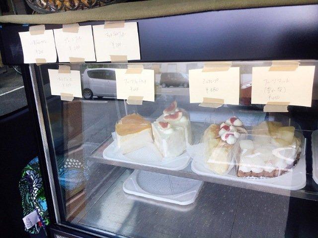 ぽめろの森:ケーキの種類1