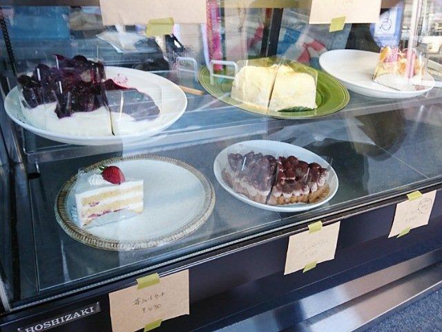 ぽめろの森:ケーキの種類