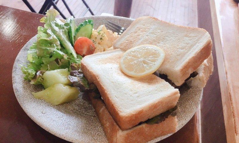 Cafe Huddle(カフェハドル):サンドウィッチ1