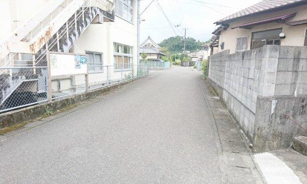 Plume前の道路