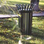 outdoor park bin