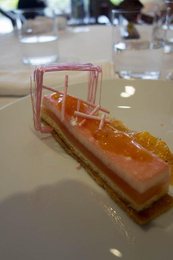 dessert au restaurant michelin anne de bretagne à pornic