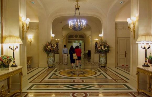 interieur du palace le shangri la