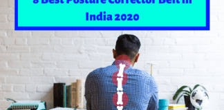 8 Best Posture Corrector Belt in India 2020
