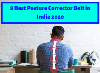8 Best Posture Corrector Belt in India 2020
