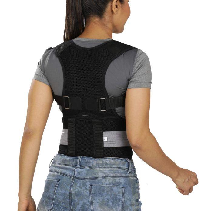 JSB BS63 Posture Corrector Belt for Men & Women Lightweight Daily Use (XL)