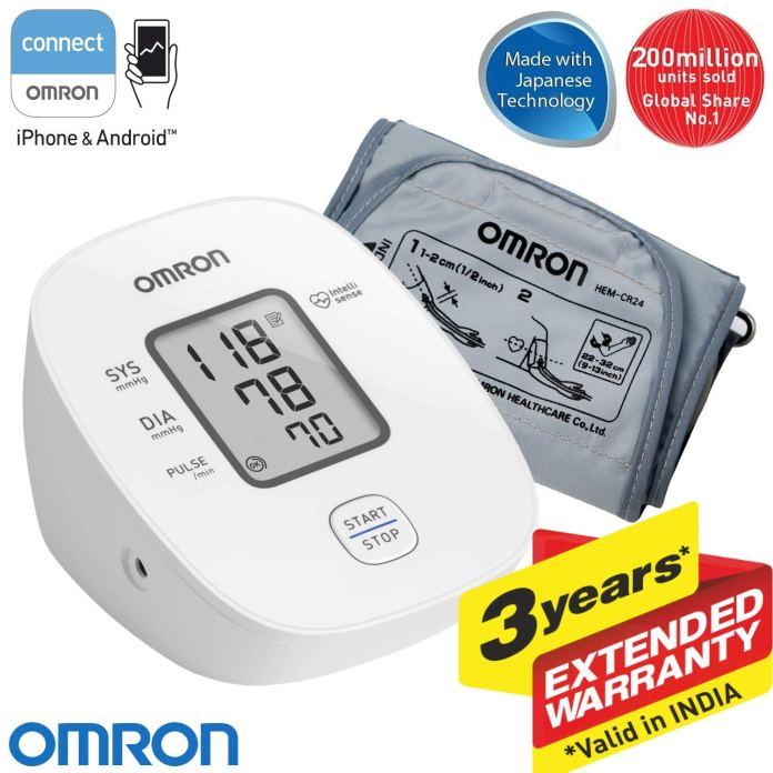 Omron HEM 7121J Digital Blood Pressure Monitor with Intellisense Technology