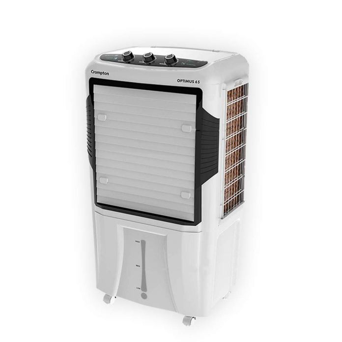 Crompton Optimus 65-Litre Desert Cooler (White)