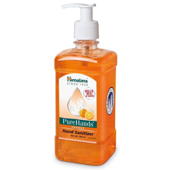 Himalaya Purehands Hand Sanitizer (orange) – 500 ml