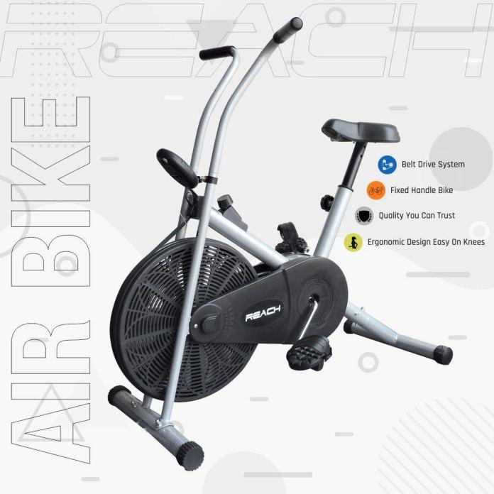 reach air bike exercise cycle