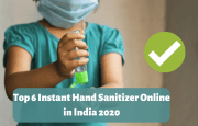 6 Best Instant Hand Sanitizer Online in India 2020