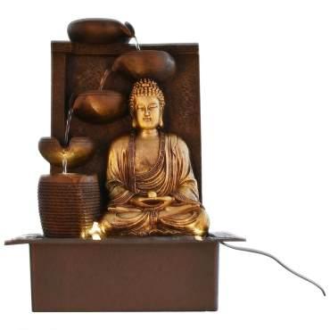 Buddha Indoor Tabletop Water Fountain