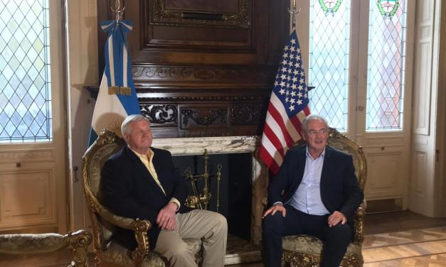 US and Argentina Agriculture Committees chairmans met in Buenos Aires