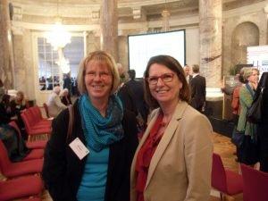 Claudia Klebach beim hessischen Klimaempfang