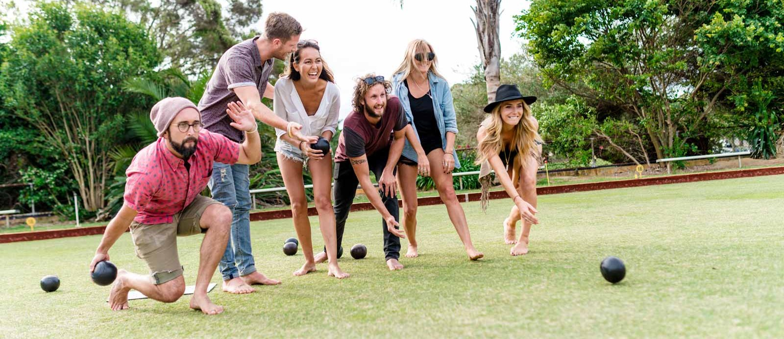 East Fremantle Bowling Club Barefoot Bowling