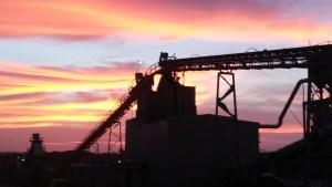 Subtropolis Mine Sunrise 2014