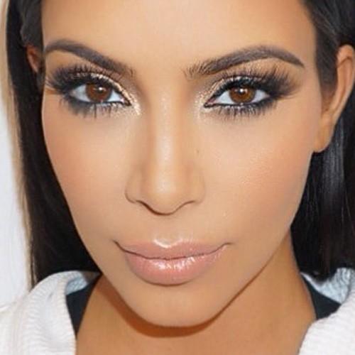 Sisters Kardashian Eye Makeup