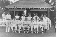 Theydon Bois cricket club wearing top hats