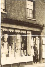 T.W Puddephatt, drapers shopfront