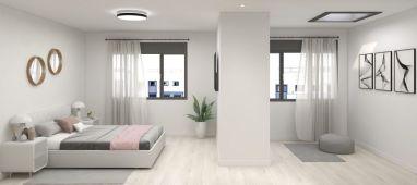 Interiorismo Casa GeoSolar® de Carbono Positivo - Grupo Index Autor: Grupo Index Madrid