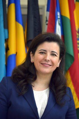 Fotografía cedida por el Banco Interamericano de Desarrollo (BID) donde aparece su directora de Negocio, Gema Sacristán. EFE/BID