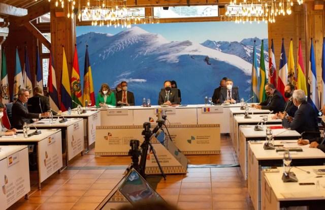 La XXVII Cumbre Iberoamericana, éxito de asistencia y propuestas económicas  y sociales para la recuperación post covid - EFE Comunica Apoyar
