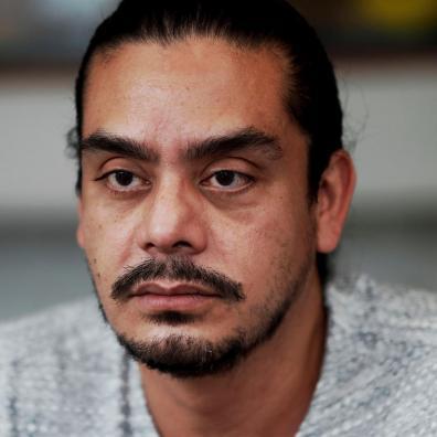 Jayro Bustamante, director de la película ' La Llorona', habla con Efe el 10 de agosto de 2021, en Ciudad de Guatemala (Guatemala). El filme La Llorona, con 11 nominaciones, es la película más aclamada de los Premios Platino del Cine y Audiovisual Iberoamericano 2021. EFE/ Esteban Biba