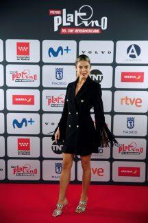 La actriz Juana Acosta posa para los medios durante la presentación de los Premios Platino del Cine y del Audiovisual Iberoamericano, este viernes en Madrid. EFE/Javier Lizón