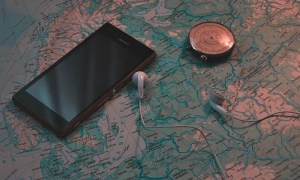 GPS, brújula y un mapa